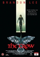 The Crow - Danish DVD cover (xs thumbnail)