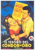 Treasure of the Golden Condor - Spanish Movie Poster (xs thumbnail)