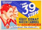 The 39 Steps - Australian Movie Poster (xs thumbnail)