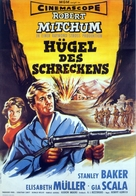 The Angry Hills - German Movie Poster (xs thumbnail)