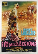 Ten Tall Men - Italian Movie Poster (xs thumbnail)