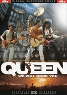 We Will Rock You: Queen Live in Concert - DVD cover (xs thumbnail)