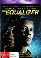 The Equalizer - Australian DVD movie cover (xs thumbnail)