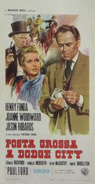 A Big Hand for the Little Lady - Italian Movie Poster (xs thumbnail)