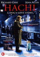 Hachiko: A Dog's Story - Dutch DVD cover (xs thumbnail)