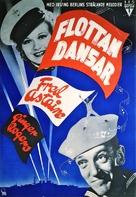 Follow the Fleet - Swedish Movie Poster (xs thumbnail)