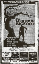 The Legend of Bigfoot - poster (xs thumbnail)