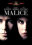 Malice - DVD movie cover (xs thumbnail)