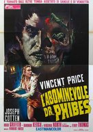 The Abominable Dr. Phibes - Italian Theatrical poster (xs thumbnail)