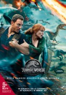 Jurassic World Fallen Kingdom - Polish Movie Poster (xs thumbnail)