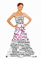 27 Dresses - Argentinian Movie Poster (xs thumbnail)