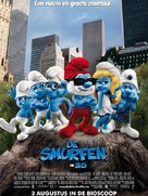 The Smurfs - Belgian Movie Poster (xs thumbnail)