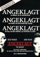The Accused - German Movie Poster (xs thumbnail)