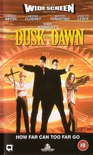 From Dusk Till Dawn - British VHS movie cover (xs thumbnail)