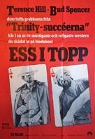 I quattro dell'Ave Maria - Swedish Movie Poster (xs thumbnail)