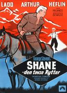 Shane - Danish Movie Poster (xs thumbnail)
