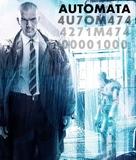 Autómata - Spanish Blu-Ray movie cover (xs thumbnail)