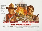 The Undefeated - British Movie Poster (xs thumbnail)