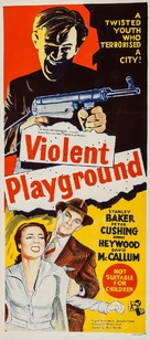 Violent Playground - Australian Movie Poster (xs thumbnail)
