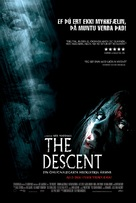 The Descent - Icelandic Movie Poster (xs thumbnail)