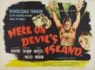 Hell on Devil's Island - British Movie Poster (xs thumbnail)