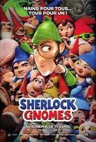 Sherlock Gnomes - French Movie Poster (xs thumbnail)