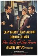 The Talk of the Town - Movie Poster (xs thumbnail)