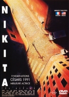 Nikita - French DVD movie cover (xs thumbnail)