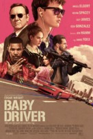 Baby Driver - Icelandic Movie Poster (xs thumbnail)