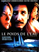 The Weight of Water - French Movie Poster (xs thumbnail)