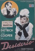 Desire - Italian Movie Poster (xs thumbnail)