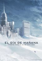 The Day After Tomorrow - Spanish Movie Poster (xs thumbnail)