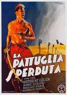 The Lost Patrol - Italian Movie Poster (xs thumbnail)