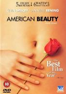 American Beauty - British DVD movie cover (xs thumbnail)
