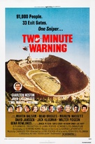 Two-Minute Warning - Movie Poster (xs thumbnail)