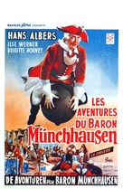 Münchhausen - Belgian Movie Poster (xs thumbnail)