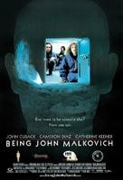Being John Malkovich - Movie Poster (xs thumbnail)