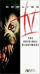 Howling IV: The Original Nightmare - VHS cover (xs thumbnail)