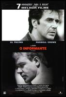 The Insider - Brazilian Movie Poster (xs thumbnail)