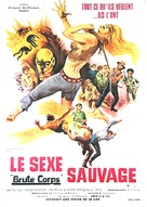 Brute Corps - French Movie Poster (xs thumbnail)