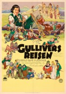 Gulliver's Travels - German Movie Poster (xs thumbnail)