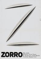 Zorro - Polish Movie Poster (xs thumbnail)