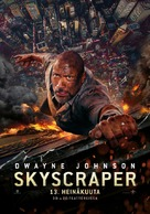Skyscraper - Finnish Movie Poster (xs thumbnail)