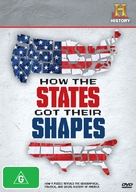 """How the States Got Their Shapes"" - Australian DVD cover (xs thumbnail)"