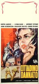 Damn Citizen - Italian Movie Poster (xs thumbnail)