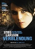 Män som hatar kvinnor - German Movie Poster (xs thumbnail)