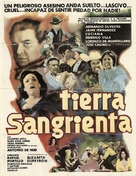 Tierra sangrienta - Mexican Movie Poster (xs thumbnail)
