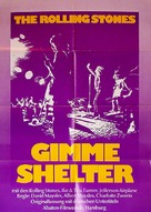 Gimme Shelter - German Movie Poster (xs thumbnail)