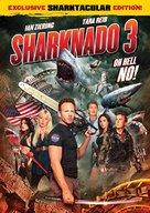 Sharknado 3 - DVD movie cover (xs thumbnail)
