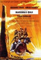 Mackenna's Gold - German Movie Poster (xs thumbnail)